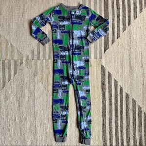[gap] vehicles one-piece PJs 4T